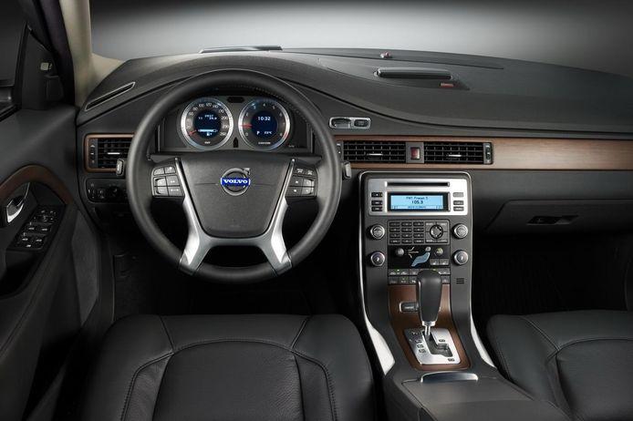 Interieur van de Volvo S80