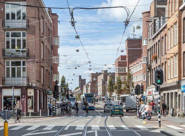 Tijdens Festival Jan Eef valt er van alles te beleven in de straat Beeld Parool