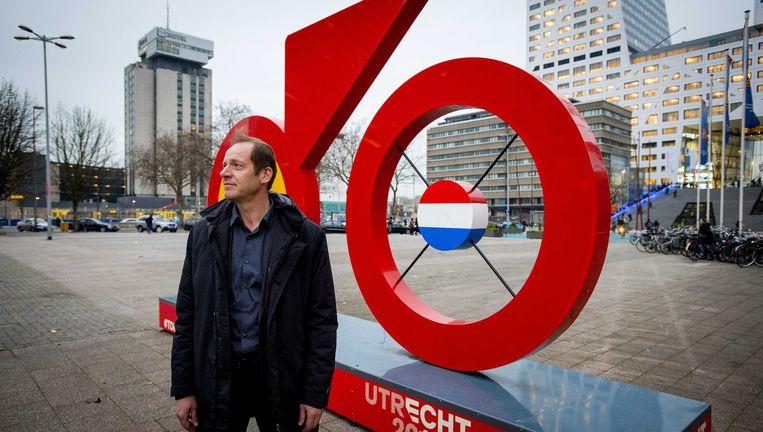 Directeur Christian Prudhomme van de Tour de France in Utrecht. Beeld ANP