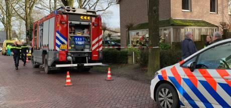 Vrouw overleden door woningbrand in Cromvoirt
