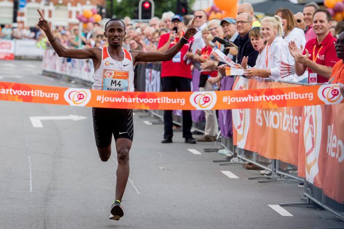 Winnaar bij de mannen: Abdi Nageeye.