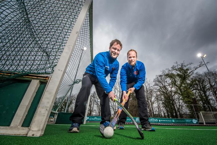 Alexander Enzerink (links) en Daan Kruisinga hopen op meer succes met PW.