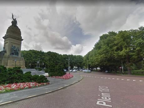 Veertig bomen bij Plein 1813 gekapt voor nieuwe ambassade Israël