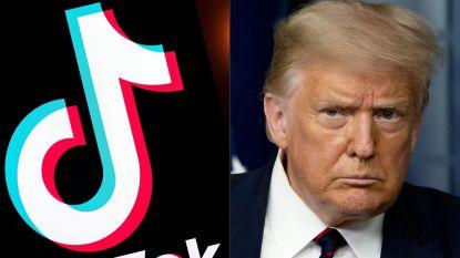Trump geeft toch groen licht voor onderhandelingen overname TikTok