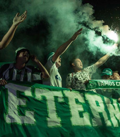 Le club de Chapecoense, meurtri par un crash d'avion fin 2016, de retour en 1re division brésilienne