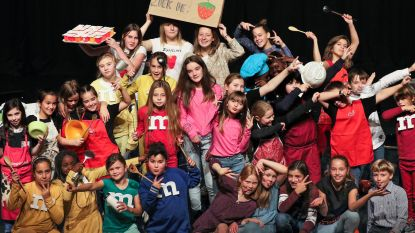 Kids leggen smakelijk parcours af tijdens Kunstendag voor Kinderen