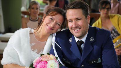 Zo romantisch: Nancy en Dieter stappen in huwelijksbootje in 'Thuis'