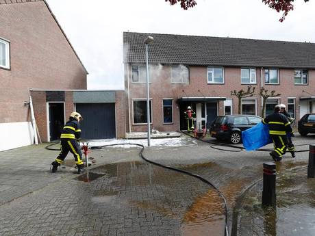 Woningbrand aan Kranenberg in Veldhoven