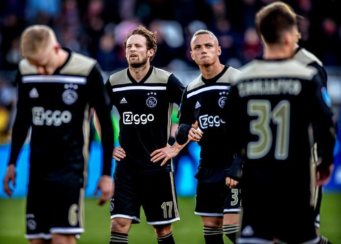 Ajax baalt na de nederlaag bij AZ.