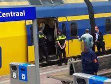 Conducteur aan schandpaal genageld door groep 'Tegen Boerkaverbod' nadat hij nikabdraagster uit trein zet