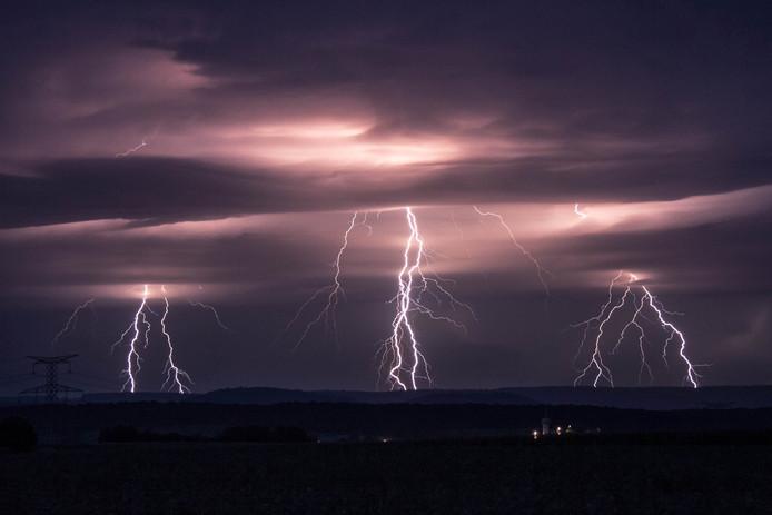 Foto van stormchaser Paul Begijn