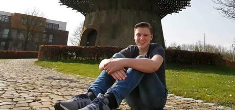 Coen Heijkoop (15): Al vroeg een klap van de molen gehad