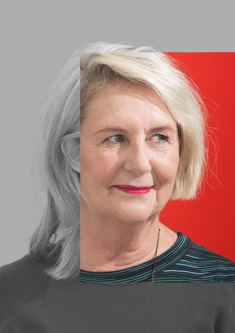 Els Rozenbroek: 'Bij vijftig plus denken mensen al snel aan iemand van zeventig plus' Beeld Peggy Kuiper