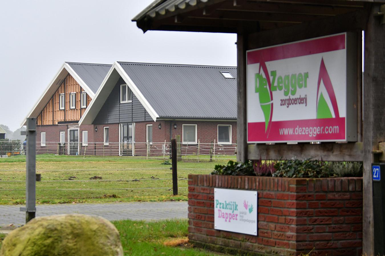 Zorgboerderij De Zegger mag uitbreiden, omwonenden verzetten zich hiertegen.