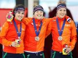 Vrouwen pakken zilver op teamsprint, mannen gediskwalificeerd
