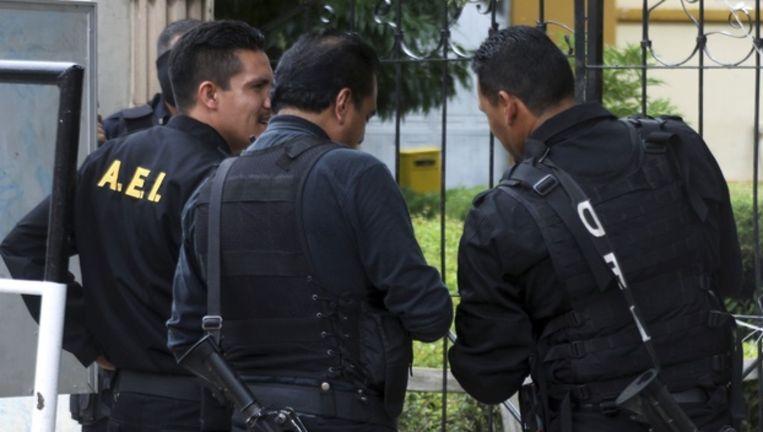 Agenten in Durango, een van de centra van het Mexicaanse drugsgeweld.