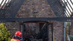 Brand vernielt atelier kunstenaar Dolf Slock maar brandweer kan woning vrijwaren
