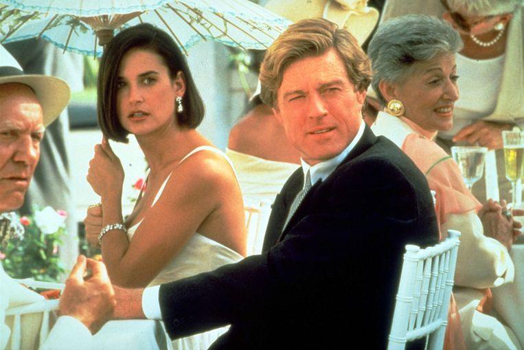 Robert Redford in de film Indecent Proposal.  Beeld Kippa