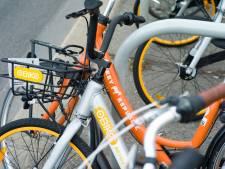 Utrecht is dé fietsdeelstad van Nederland en dus worden er extra fietsen aangeboden op de stations
