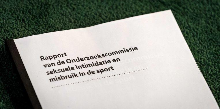 Het eindrapport van de commissie-De Vries werd begin deze week gepresenteerd. Beeld ANP