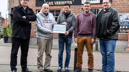 Café Vierhuizen steunt goed doel