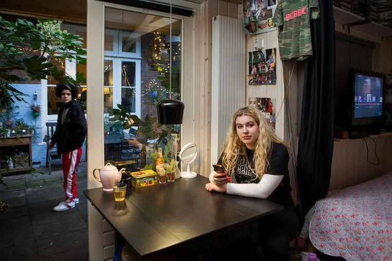 Bobbie: 'Het is bijna té comfortabel' Beeld Marijn Scheeres
