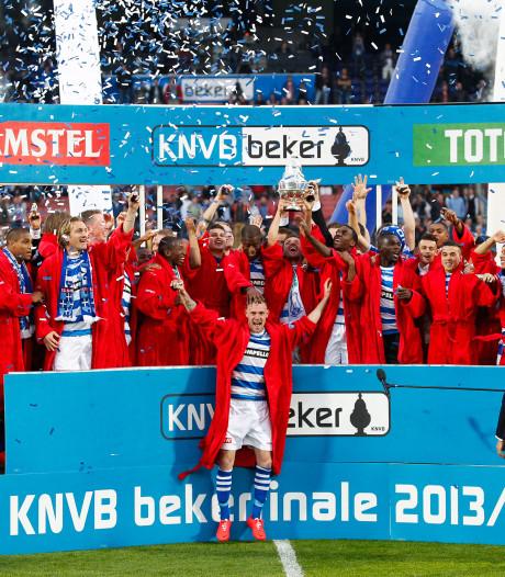Van der Werff over gewonnen bekerfinale met PEC Zwolle: 'Het leek wel of we de WK-finale gingen spelen'