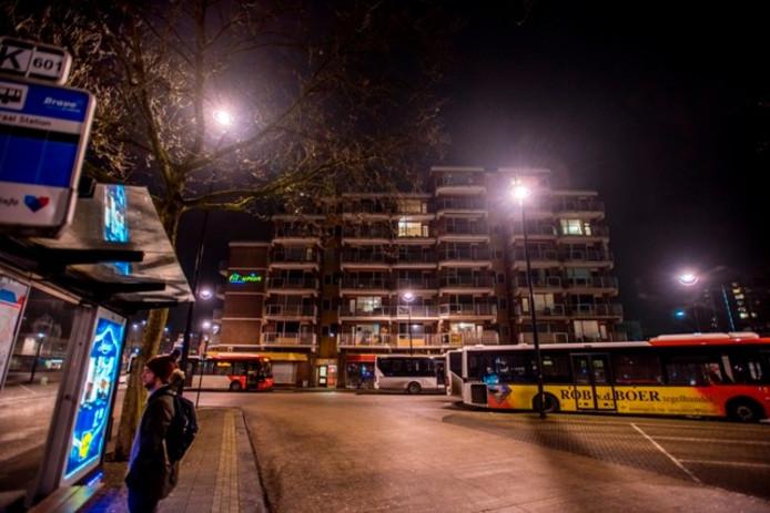 Tilburion bij nacht. Foto Jan van Eijndhoven