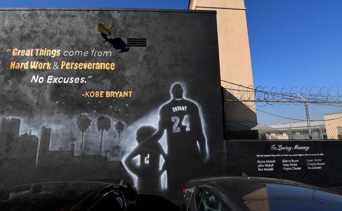 Een herdenkingsmuur in Los Angeles.