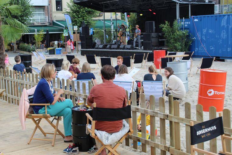 Eeklo Beach zorgde de voorbije weken voor gezelligheid in de binnenstad van Eeklo.