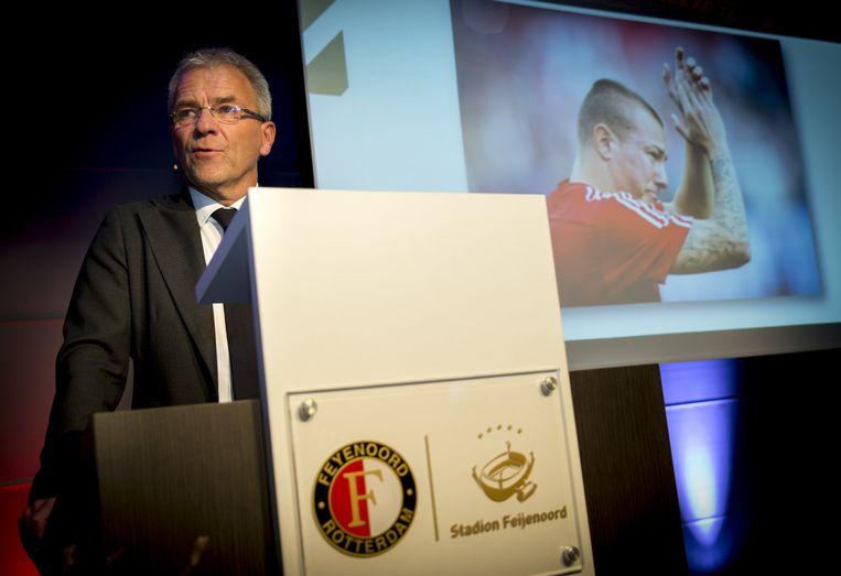 Eric Gudde, algemeen directeur van Feyenoord. Beeld anp