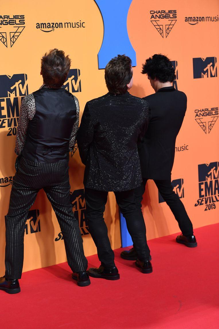 Green Day neemt het allemaal zo serieus niet.