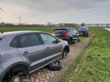 Gezocht: De rest van deze gestripte en gestolen Volkswagen Polo's die gedumpt zijn in Waalwijk