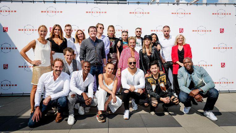 De voltallige cast zal bij de liveshow in Ziggo aanwezig zijn Beeld anp