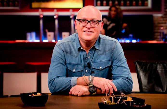 René van der Gijp tijdens de uitzending van het RTL-programma Voetbal Inside.