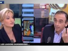 """Nouveau clash avec Eric Zemmour: """"Vous posez des questions stupides"""""""