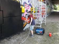 VIDEO: 'Graffiti zou op meer plekken in Boxtel niet misstaan'