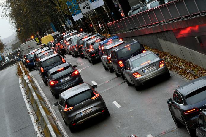 Embouteillages à Bruxelles