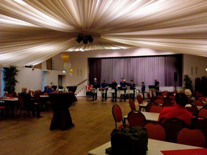 Harmonie geeft uitvoering in feestzaal Zidewinde