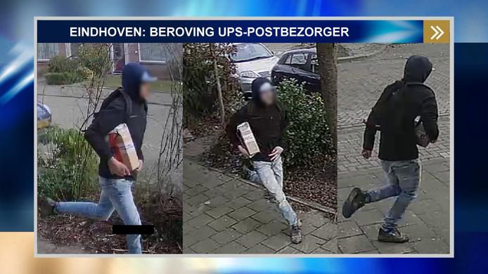 De verdachte is te zien op beelden van Bureau Brabant.