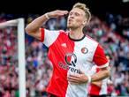 Jørgensen terug op het trainingsveld bij Feyenoord