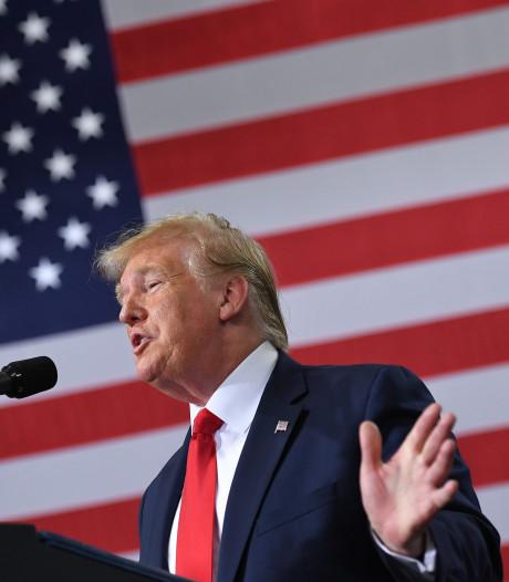 Trump reageert op kritiek: 'Mijn tweets waren NIET racistisch'