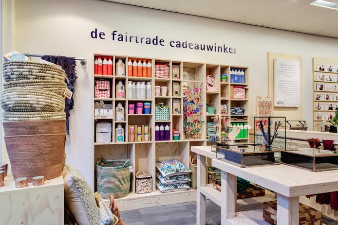 De Wereldwinkel in Den Bosch dient als voorbeeld voor de nieuwe Wereldwinkel in Ede.