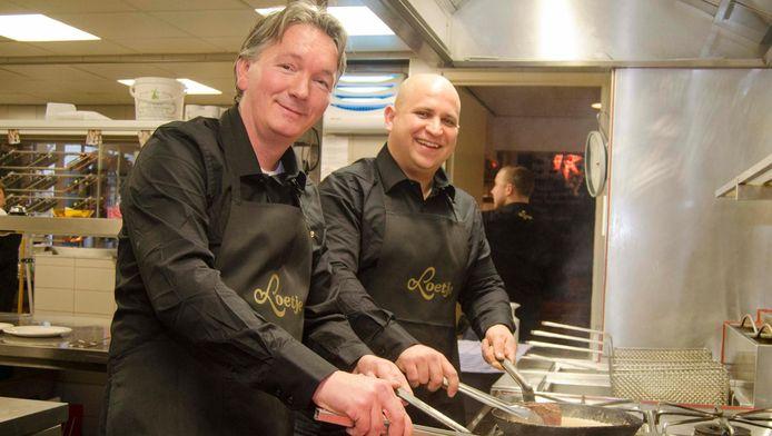 Ron de Visser links) en Jesper van Kempen