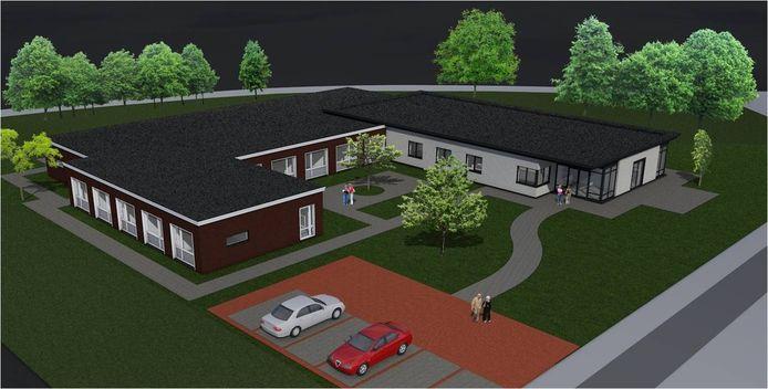 Impressies van de vestiging van Dagelijks Leven op de locatie van de school aan de Zanddonk in Beuningen.