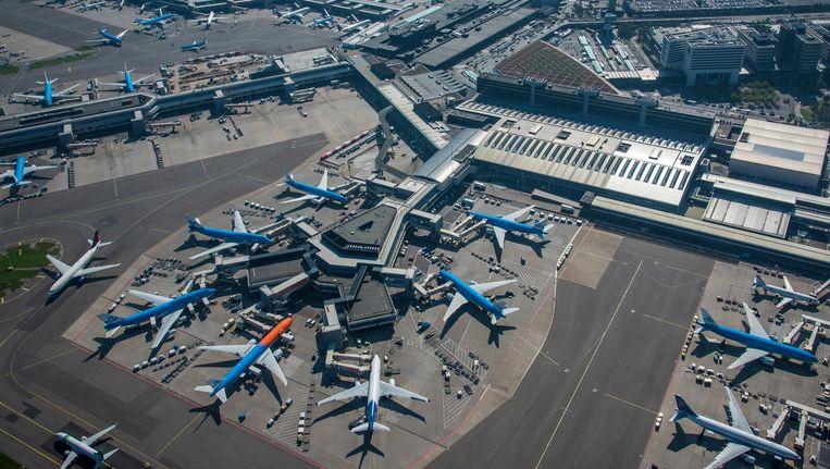 'Geen goede zaak voor het herstel van KLM en voor de omgeving.' Beeld anp