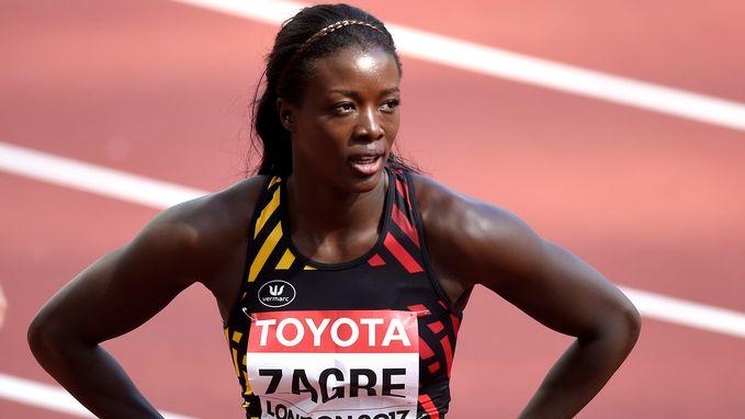 Geen finale voor Anne Zagré op 100 meter horden