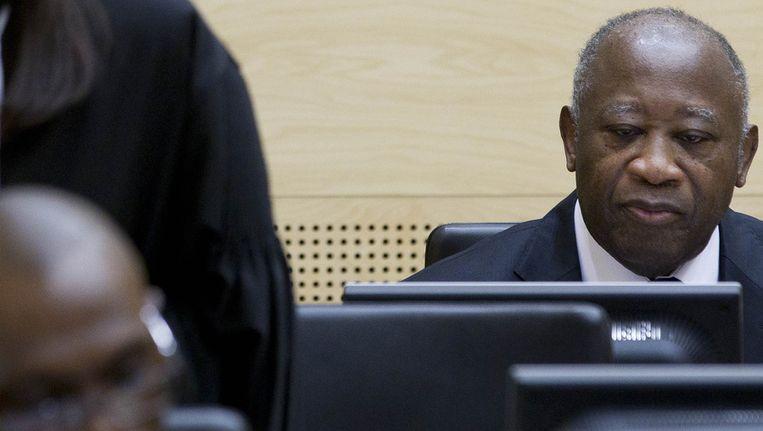 Laurent Gbagbo Beeld ANP