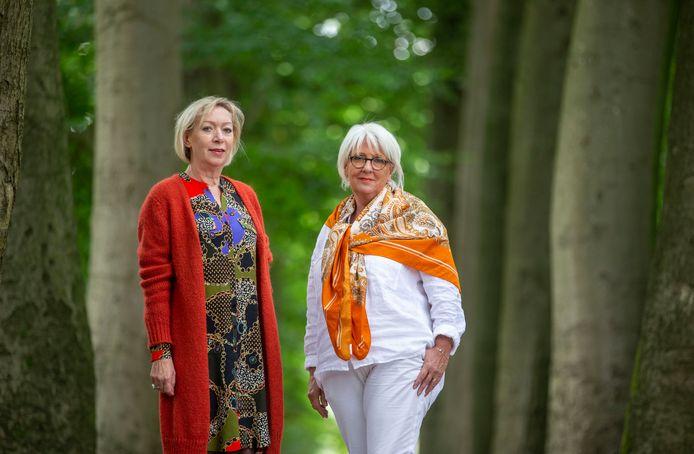 Nelleke Middendorp (links) en Atie van der Meent mogen niet terugkomen.