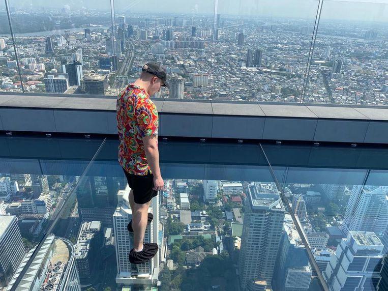 Tim Peijnenburg in Bangkok, Thailand. Beeld Tim Peijnenburg